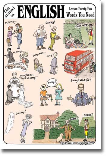 how to speak good british english
